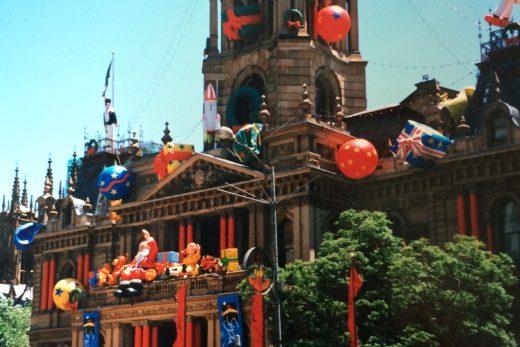 Weihnachtsdeko Sydney Rathaus