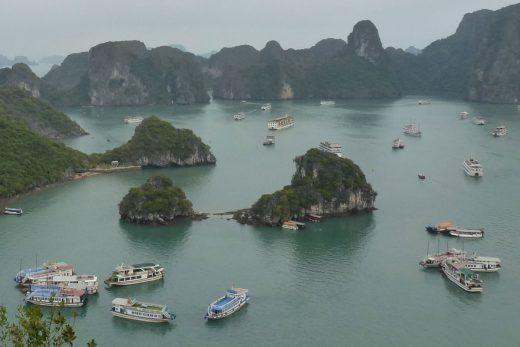 Vietnam-Rundreise – Halong Bucht